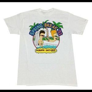Beavis and Butthead spring Break 93 vintage Tshirt